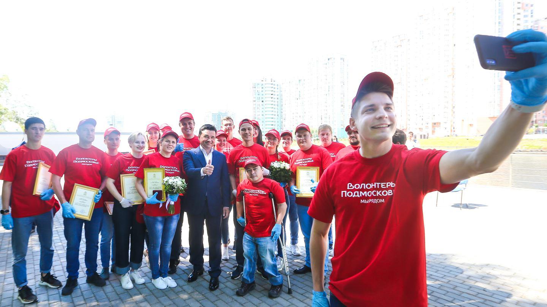 Андрей Воробьев губернатор московской области - Профессия — не быть равнодушным. Губернатор наградил волонтеров