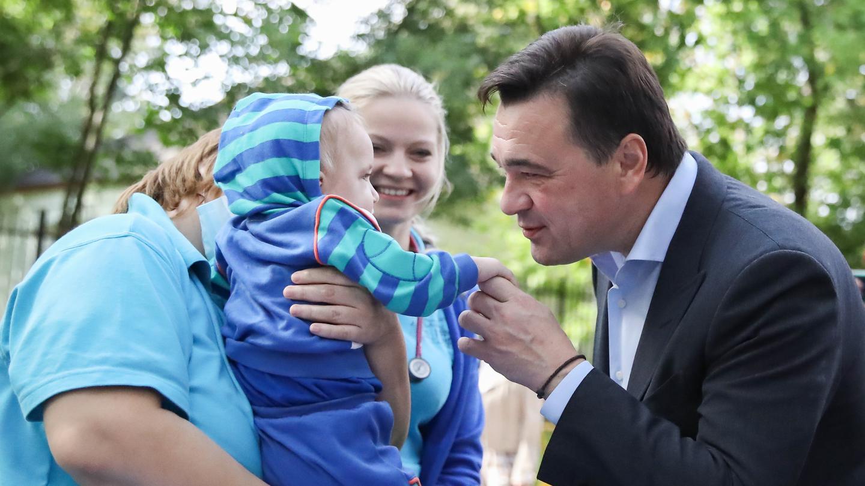 Андрей Воробьев губернатор московской области - Помочь можно всем. Хоспис для детей в Домодедове получил еще одно здание