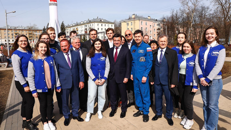 Андрей Воробьев губернатор московской области - Из Подмосковья — на Луну: в регионе отмечают День космонавтики
